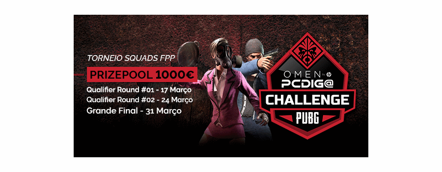 OMEN PCDIGA PUBG Challenge