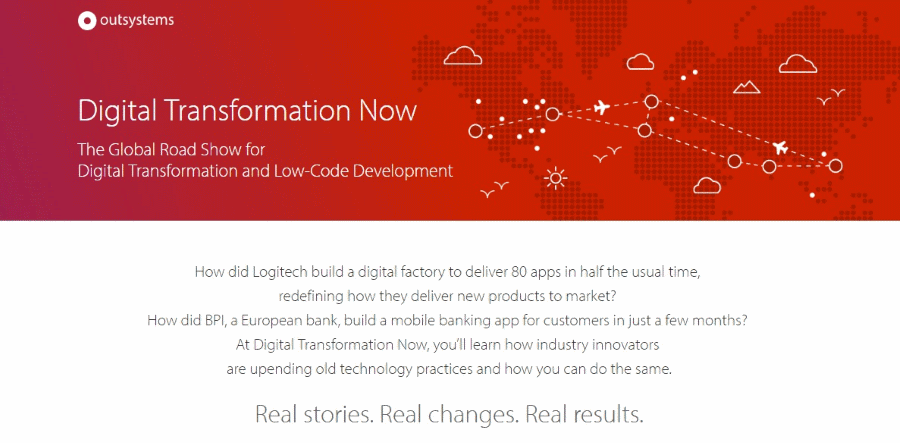 OutSystems Digital Transformation Now