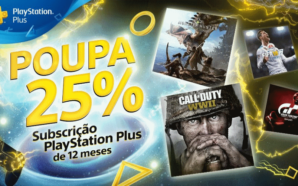 PlayStation Plus playstation PlayStation Plus com 25% de desconto até dia 23 de Março PlayStation Plus 298x186