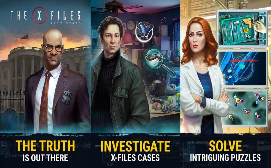 The X-Files app