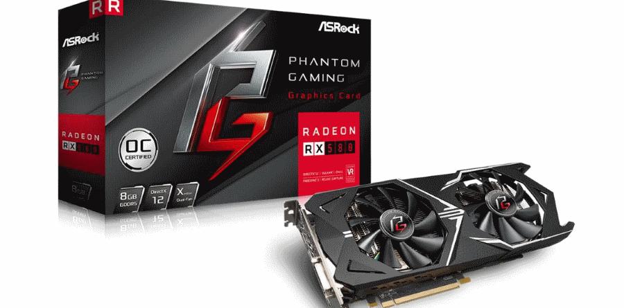 ASRock Phantom Gaming X Radeon RX 580