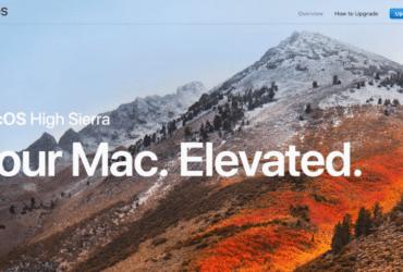 Apple macOS High Sierra