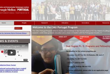 Carnegie Mellon Portugal Information New