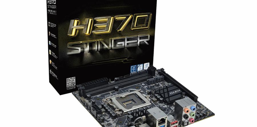 EVGA H370 Stinger New