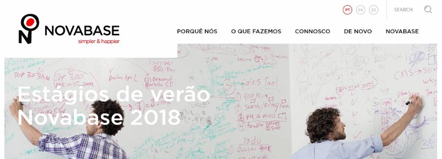Estágios Verão Novabase 2018 novabase - Est  gios Ver  o Novabase 2018 - Novabase abre candidaturas para 28 estágios de Verão