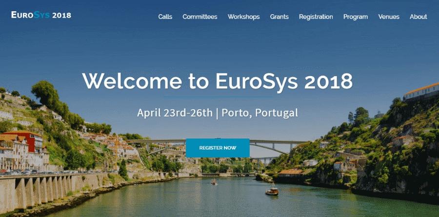 EuroSys 2018 New