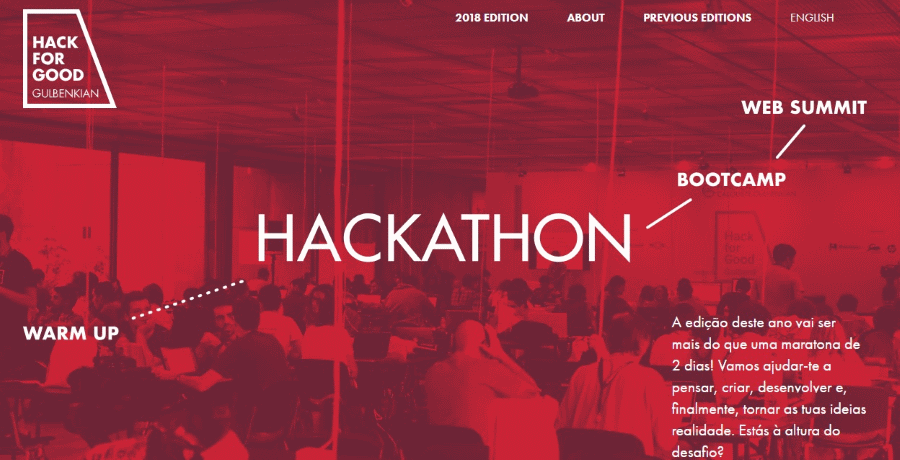 Hack for Good 2018
