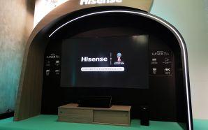 Hisense lança Laser TV de 100 polegadas