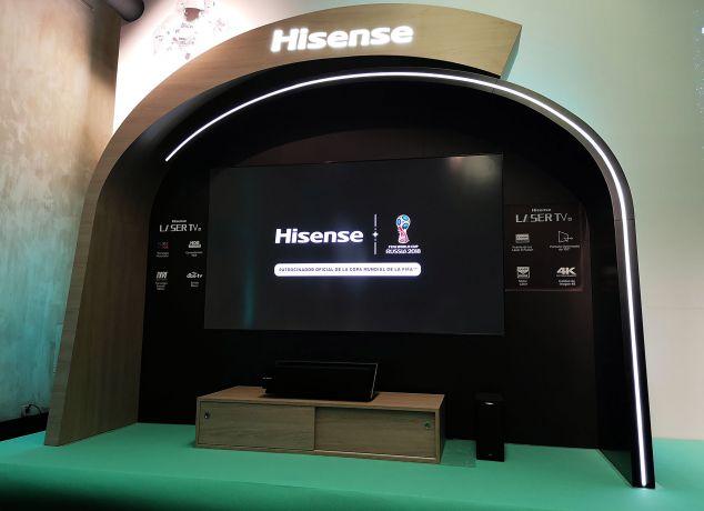 hisense lança laser tv de 100 polegadas - Hisense Laser TV 01 634x460 - Hisense lança Laser TV de 100 polegadas