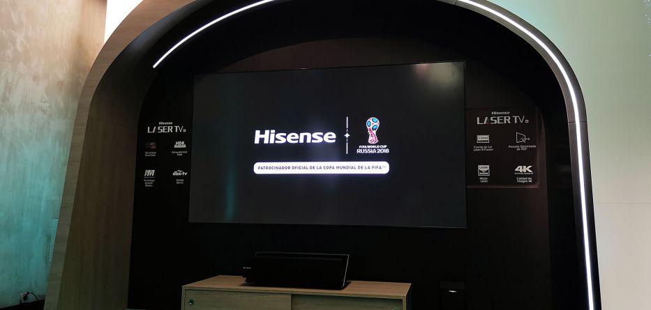hisense lança laser tv de 100 polegadas - Hisense Laser TV 01 933x445 - Hisense lança Laser TV de 100 polegadas