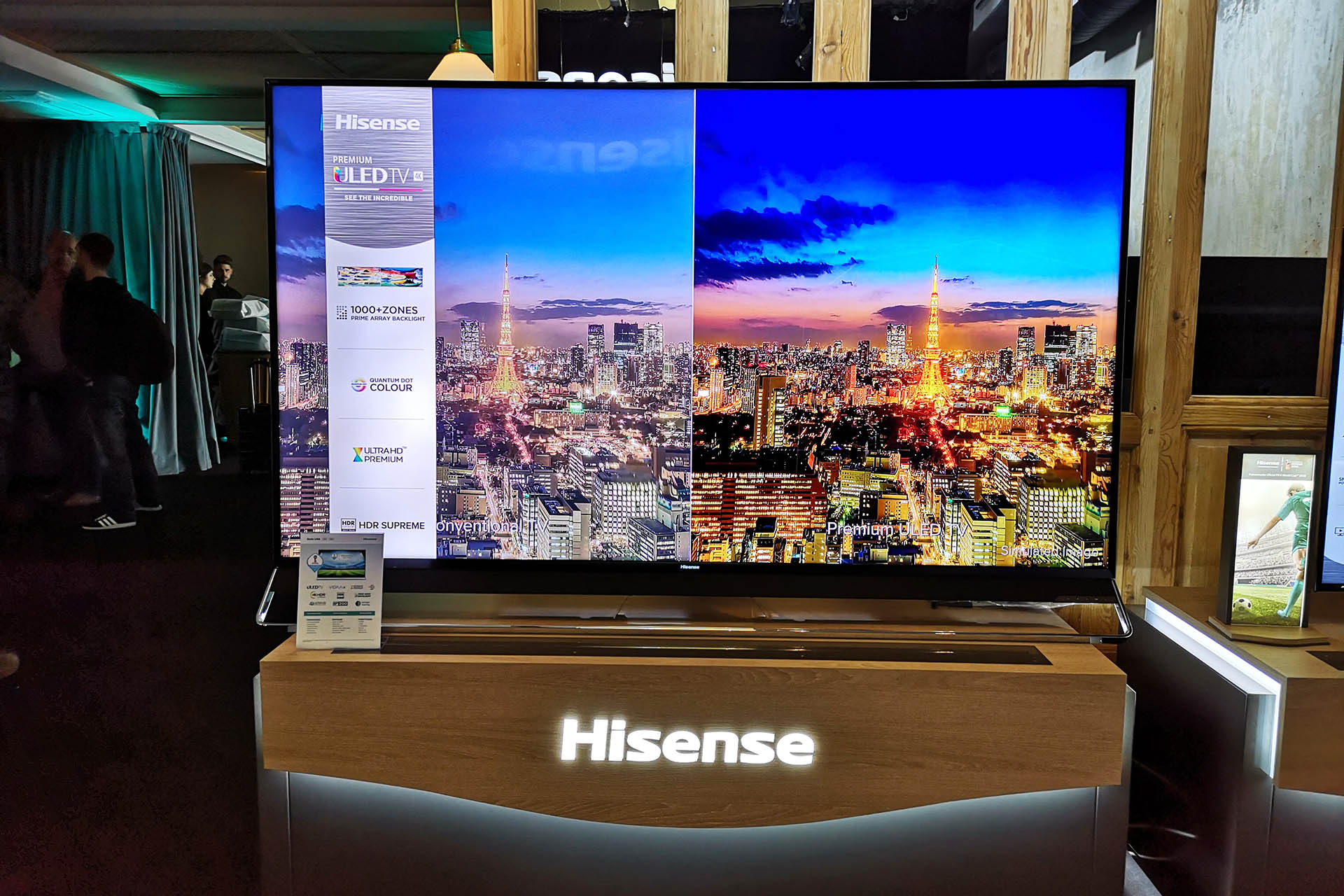 hisense lança laser tv de 100 polegadas - Hisense Laser TV 04 - Hisense lança Laser TV de 100 polegadas