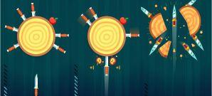 knife hit - Knife Hit app 298x135 - App do Dia – Knife Hit