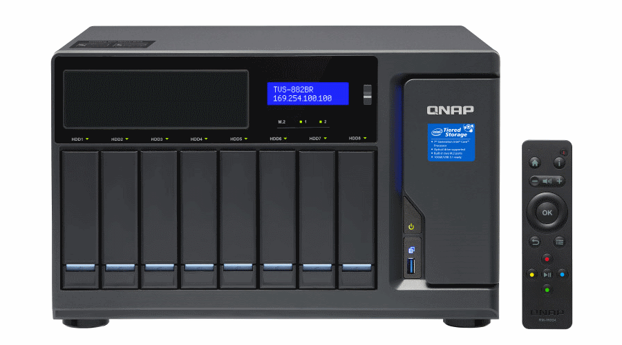 QNAP Systems TVS-882BR RDX