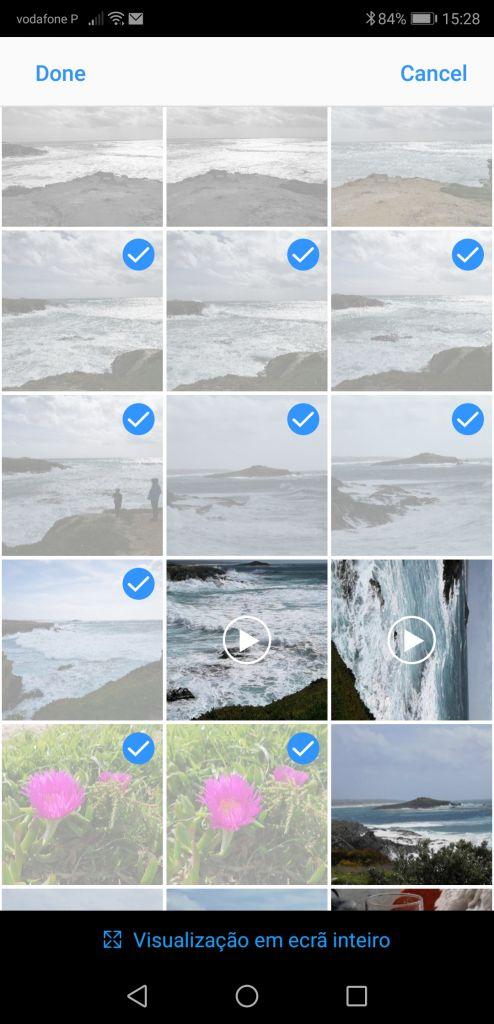 Escolher fotos