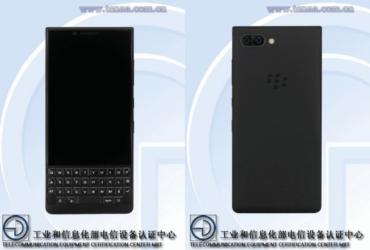 TENAA BlackBerry