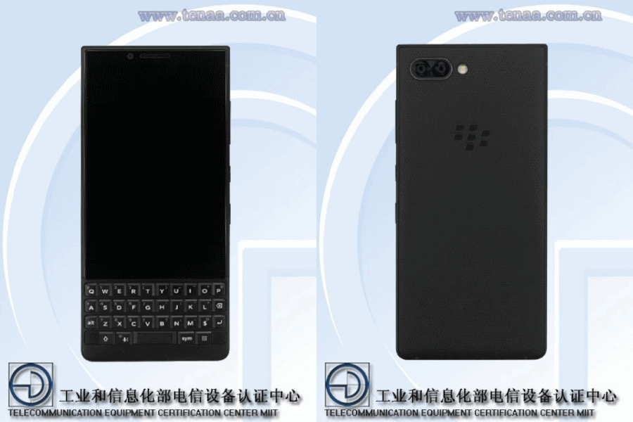 TENAA BlackBerry