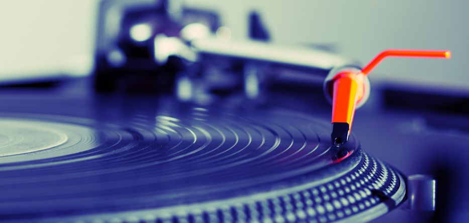 gira discos vinil
