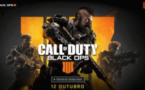 Call of Duty: Black Ops 4 chega no dia 12…