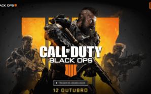 Call of Duty: Black Ops 4 chega no dia 12…