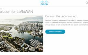 Cisco LoRaWAN