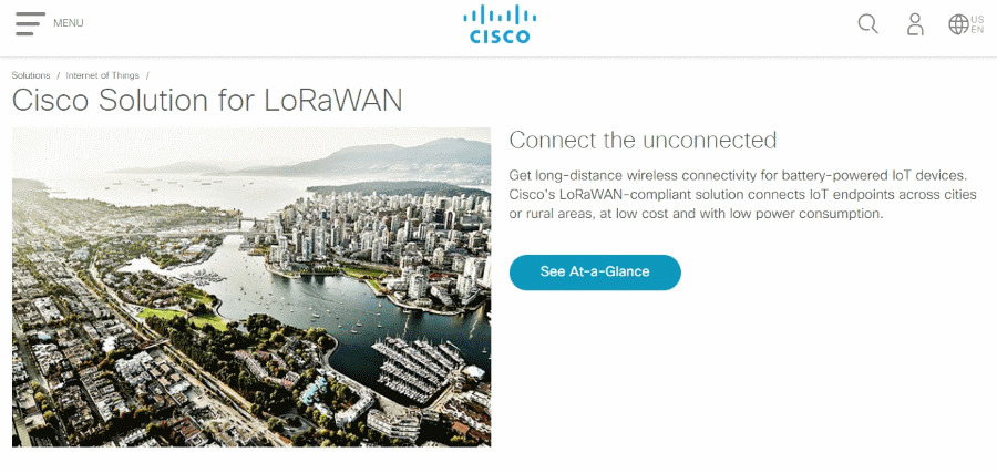 Cisco LoRaWAN