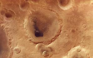 Vídeo da ESA mostra a cratera Neukum de Marte