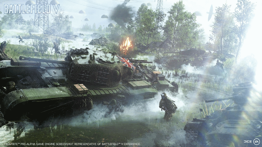 Electronic Arts DICE Battlefield V