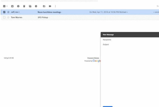 Google Gmail New dica - Google Gmail New 1 634x429 - Dica do Dia: Como usar o modo confidencial do novo Gmail