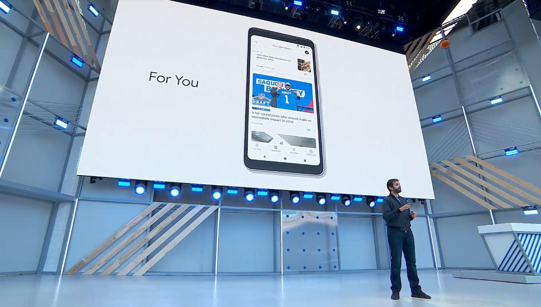Google News inteligência artificial invade google i/o 2018 - Google News - Inteligência artificial invade Google I/O 2018