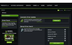 Nvidia Drivers GeForce