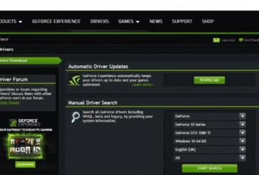 Nvidia Drivers GeForce