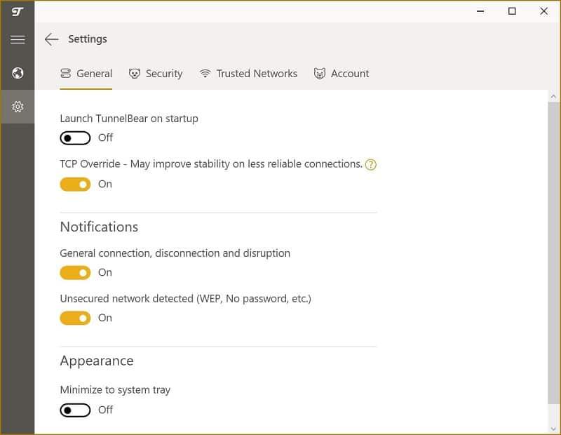 tunnelbear - Passo 7 - Proteja a sua privacidade com a VPN TunnelBear