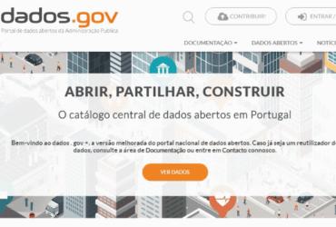 Portal de dados abertos da Administração Publica