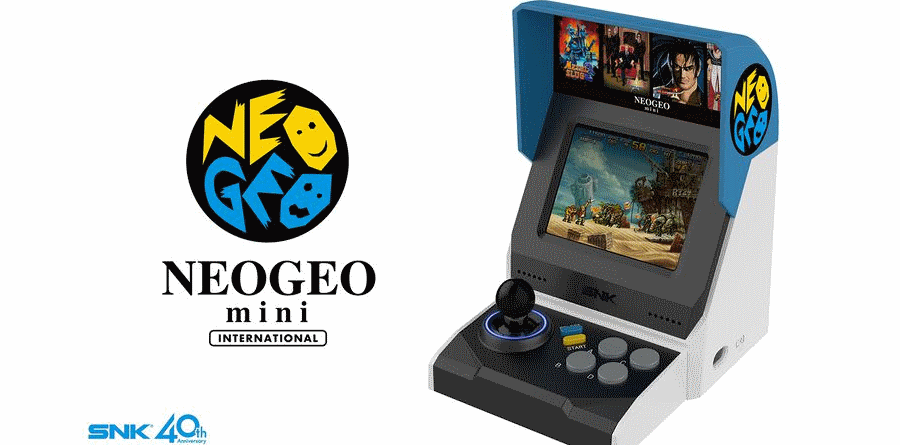 SNK Neo Geo Mini International