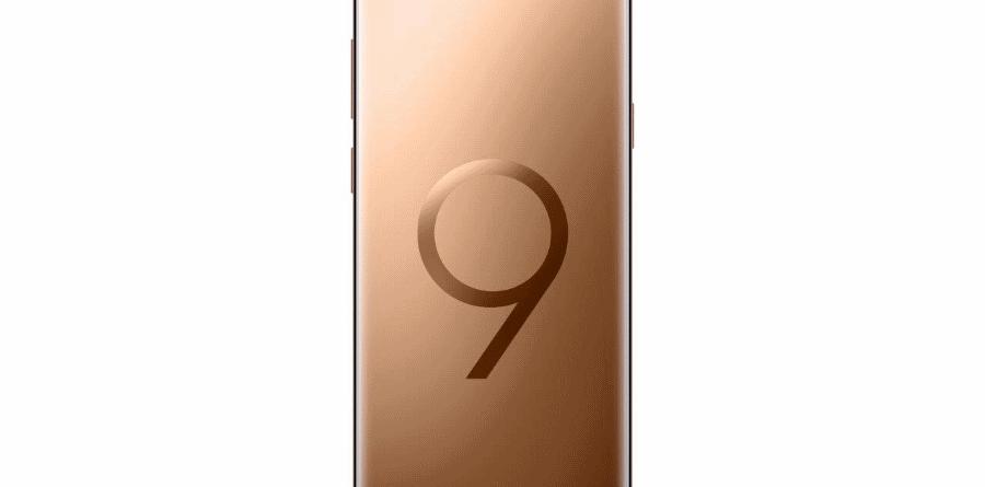 """Samsung Galaxy S9+ Dourado Amanhecer samsung - Samsung Galaxy S9 Dourado Amanhecer 900x445 - Samsung lança edição """"Dourado Amanhecer"""" dos Galaxy S9 e S9+"""