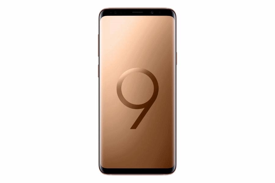 Samsung Galaxy S9+ Dourado Amanhecer