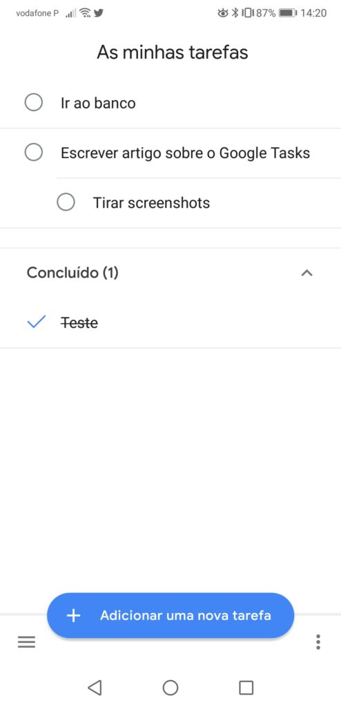 Terminada organize a sua vida com a google tasks - Screenshot 20180521 142054 494x1024 - Organize a sua vida com a Google Tasks