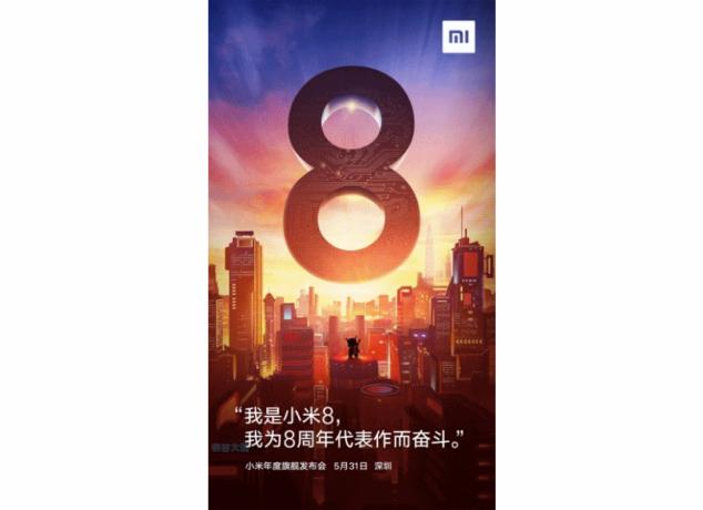 Xiaomi Mi 8 divulgadas - Xiaomi Mi 8 634x460 - Divulgadas especificações do Xiaomi Mi 8