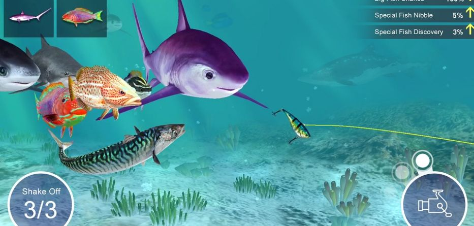 fishing - fish strike app 933x445 - App do Dia – Fishing Strike