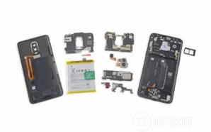 OnePlus 6 desmontado pelo iFixit