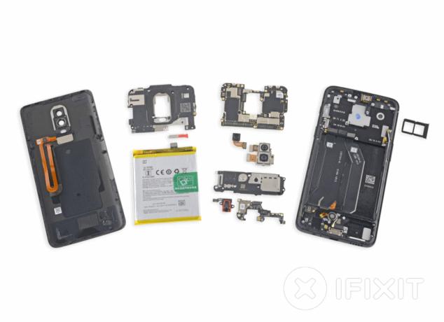 iFixit OnePlus 6 oneplus - iFixit OnePlus 6 634x460 - OnePlus 6 desmontado pelo iFixit