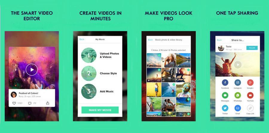 magisto - magisto final 900x445 - App do Dia – Magisto – Video Editor & Maker