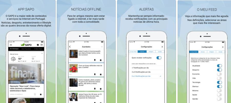 App do Dia - SAPO