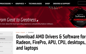 AMD lança versão 18.6.1 do driver Radeon Software Adrenalin Edition