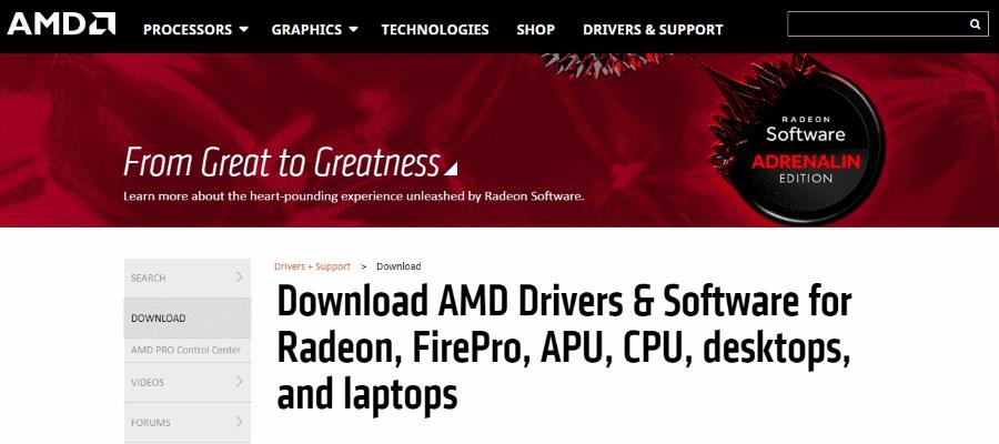 AMD lança versão 18 6 1 do driver Radeon Software Adrenalin