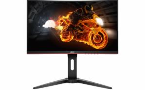 AOC revela nova gama de monitores curvos