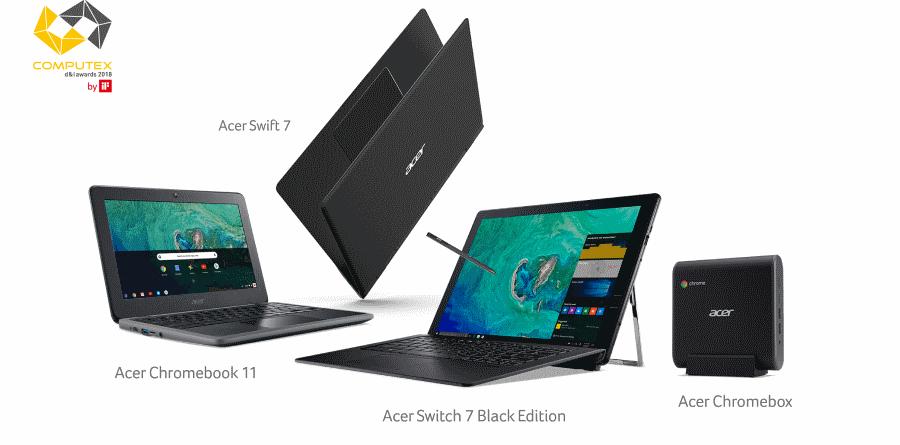 Acer Computex d&i award 2018