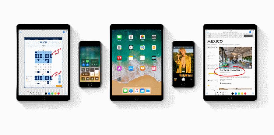 Apple iOS 11 New