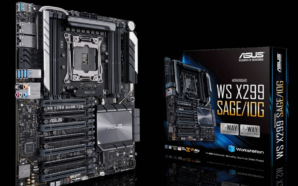 Asus revela novo modelo da motherboard WS X299 Sage