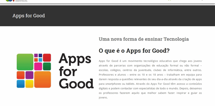 CDI Portugal Apps for Good